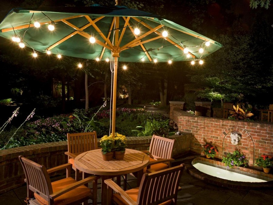 4-7-outdoor-garden-landscape-lighting-ideas-rope-string-holiday-lights-bulbs-small-pond-sunshade