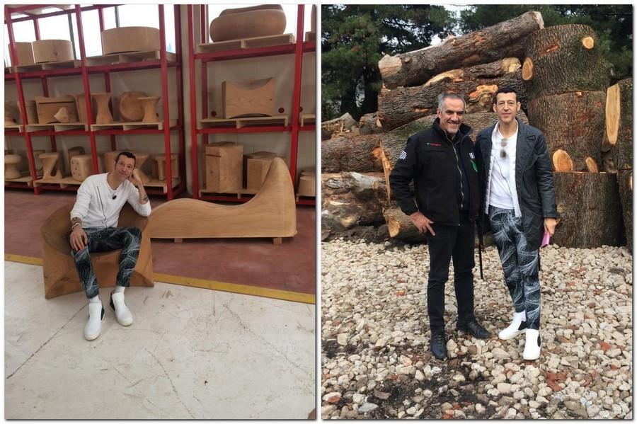 4-Authentic-Living-natural-wood-walnut-furniture-collection-by-Lamborghini-Riva-1920-designed-by-Karim-Rashid-sinuous-shape-elegant-Italy