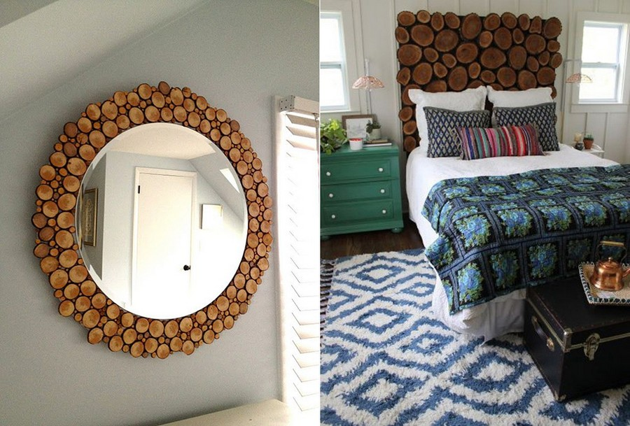 5-3-tree-wood-cross-sections-cuts-in-interior-design-decor-handmade-wooden-mirror-frame-headboard-eco-style