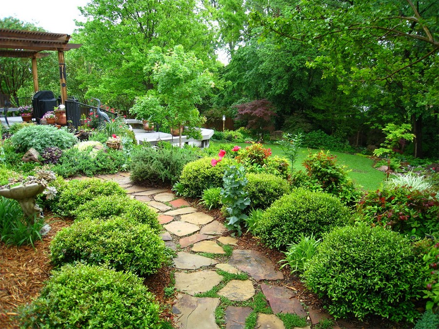 5-garden-path-design-landscape-walkway-shrubs-stone-yard-trees-gazebo