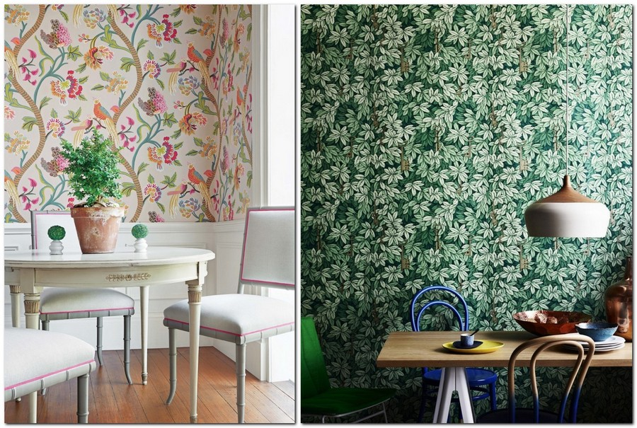 Kitchen Wallpaper: 15 Ideas for Any Interior & Buying Guide | Home ...