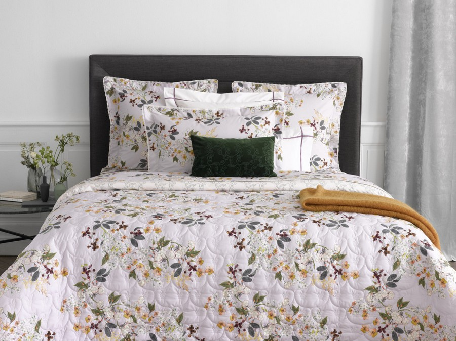 8-Yves-Delorme-Paris-France-new-collection-home-textile-summer-2017-bed-linen-set-spring-motifs-flowers