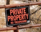 The Right Way to Deal with Travellers on Your Property