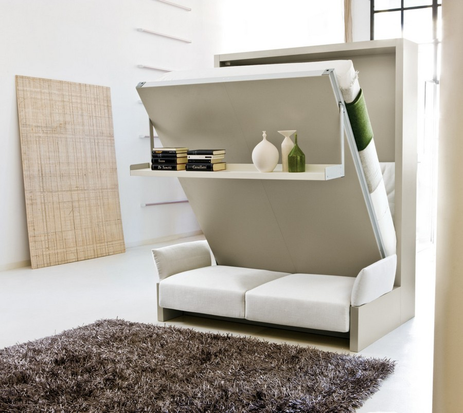 1-1-wall-bed-pull-down-fold-down-convertible-folding-Murphy-bed-sofa-white-in-interior-design-small-tight-space-one-room-apartment-ideas-studio