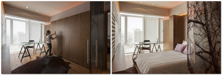 1-5-wall-bed-pull-down-fold-down-convertible-folding-Murphy-bed-wooden-wardrobe-closet-concealed-work-area-office-study-in-interior-design-small-tight-space-one-room-apartment-ideas-studio