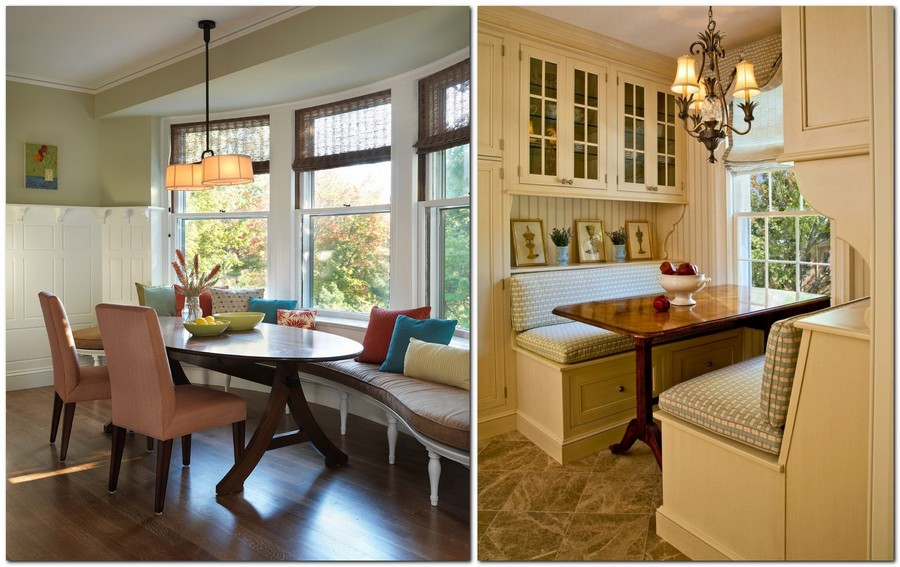 1-dining-room-zone-area-interior-design-built-in-banquettes-rectangular-ovel-table-window