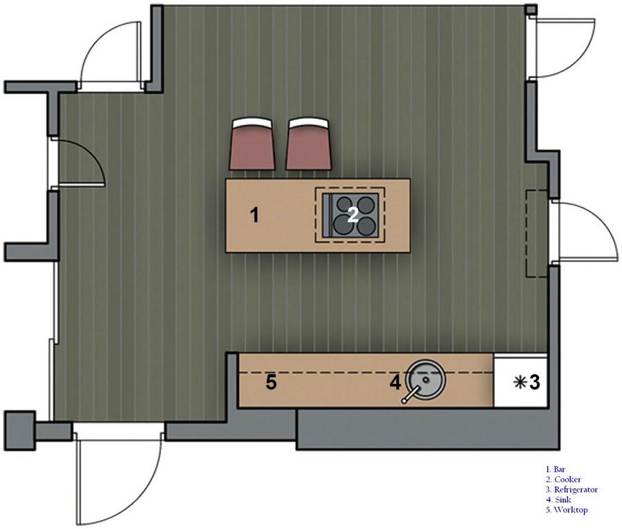 1-open-conecpt-kitchen-plan-small-island-cooker-refrigerator-sink-worktop-scheme