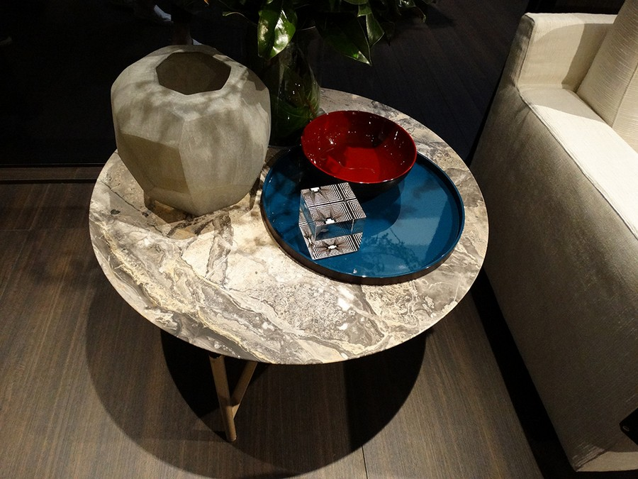 2-2-Flou-new-collection-of-contemporary-style-furniture-at-Salone-de-Mobile-Exhibition-Milan-2017-round-stone-coffee-table-top