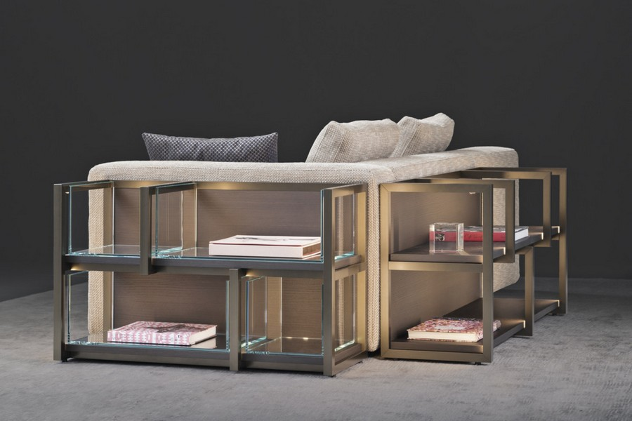 2-6-Flou-new-collection-of-contemporary-style-furniture-at-Salone-de-Mobile-Exhibition-Milan-2017-open-shelves-behind-the-sofa-storage