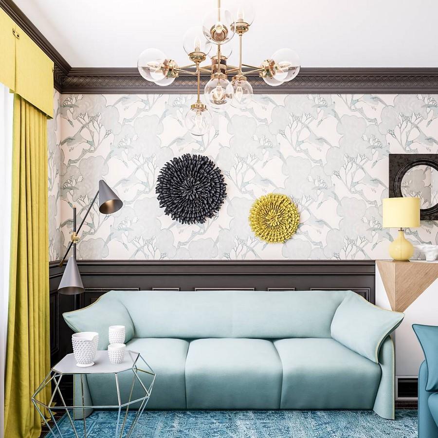 10 Fresh Living Room Interior Ideas from Designers\' Instagrams ...