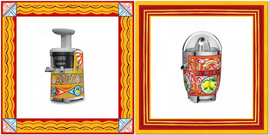 3-new-collection-of-domestic-kitchen-appliances-by-Smeg-and-Dolce-Gabbana-2017-Sicily-is-My-love-made-in-italy-bright-ethnic-floral-motifs-creative-design-juice-squeezers-juicer-citrus-rde-yellow-blue