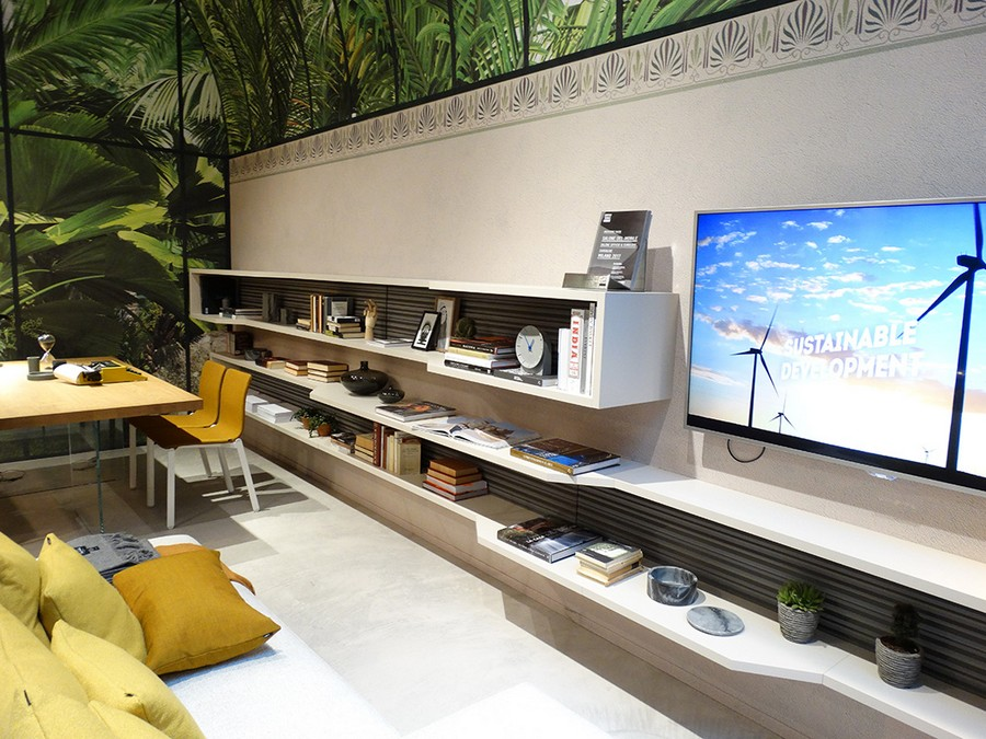 4-3-Lago-new-collection-of-contemporary-style-furniture-at-Salone-de-Mobile-Exhibition-Milan-2017-wall-mounted-shelves-long-racks-open-storage-books-TV-set