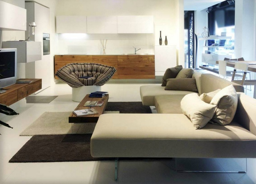 4-6-Lago-new-collection-of-contemporary-style-furniture-at-Salone-de-Mobile-Exhibition-Milan-2017-living-room-interior-design-rug-sofa-arm-chairs-TV-set-console-coffee-table