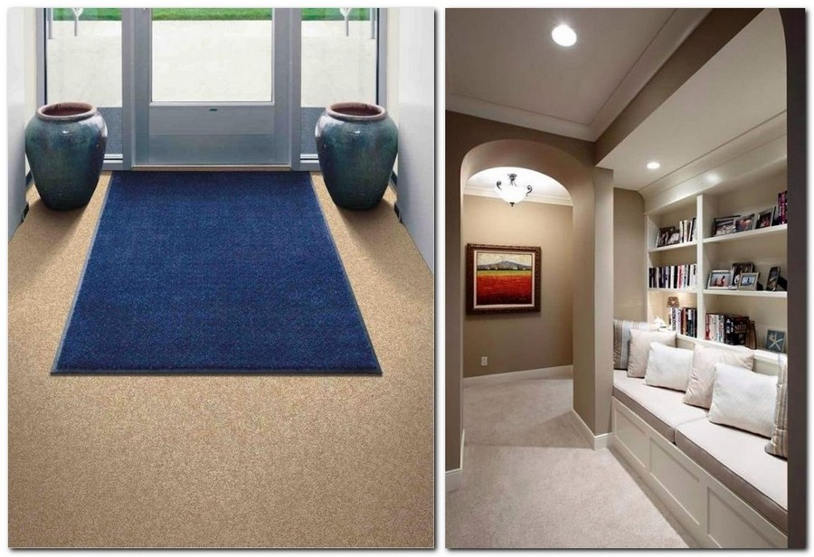 5-carpeting-synthetic-covering-floor-covering-in-hallway-interior-design-entry-blue-rug-mat-shoe-bench-bookshelves-floor-pots-vases
