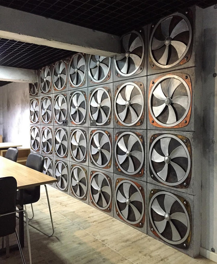 6-loft-style-office-study-work-room-wall-decor-brutal-faux-ventilation-system-plaster-work-panels