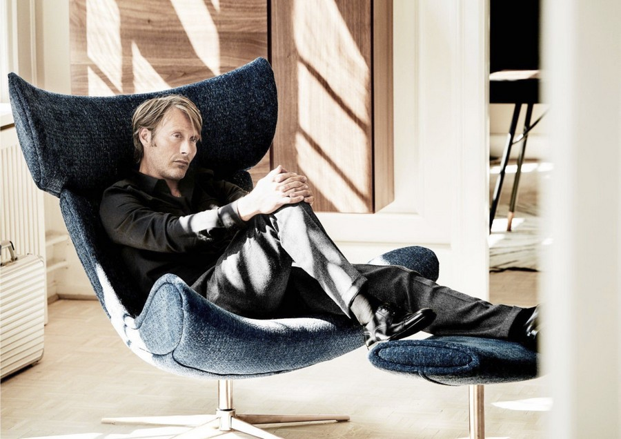 6-the-Imola-chair-designed-by-Henrik-Pedersen-Mads-Mikkelsen-actor-blue-with-footrest