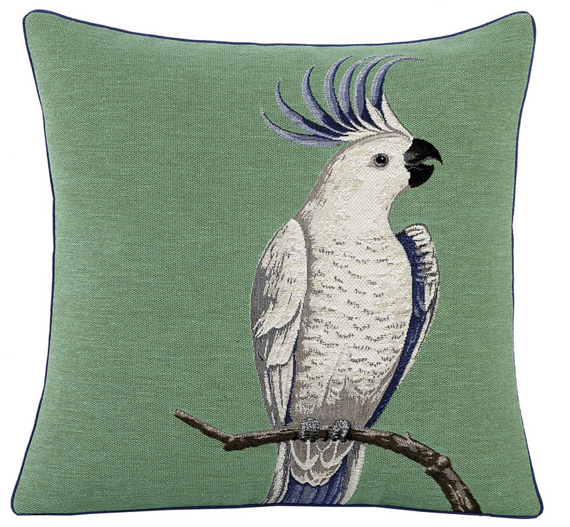 9-Yves-Delorme-decorative-couch-throw-pillow-green-white-blue-parrot-bed-linen-set-bedclothes-summer-collection-2017