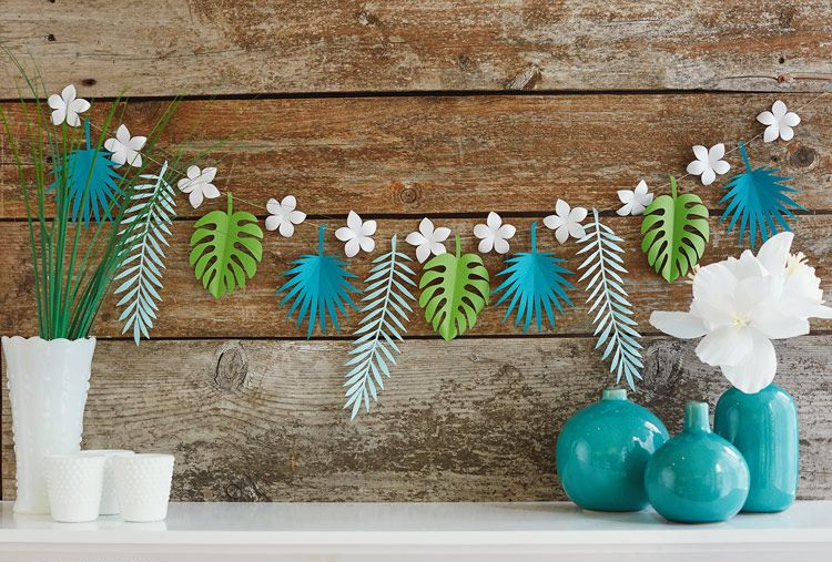 0 Handmade Colored Paper Garlands Ideas Home Decor