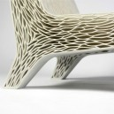 1-2-3D-printed-furniture-made-on-3D-printer-spongy-multi-layered-arm-chair-super-ergonomical-eco-design-by-Lilian-van-Daal-Dutch-Netherlands-white