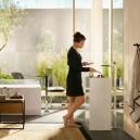 1-Hansgrohe-beige-bathroom-interior-design-wash-basin-vanity-unit-bathtub-free-standing-faucet