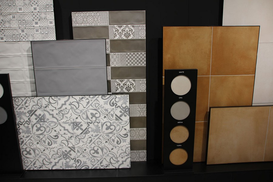 10-9-ceramic-tiles-in-interior-design-Zirconio-brand-collection-2017-faux-Mettlach-tiles-samples-gray-blue-beige-brown