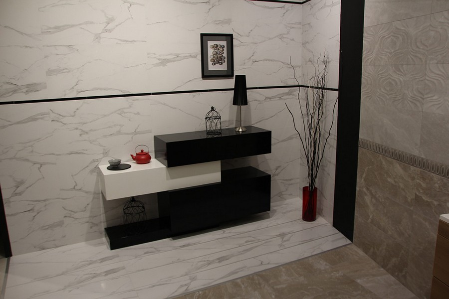 13-5-ceramic-tiles-in-interior-design-Azteca-brand-collection-2017-black-and-white-wall-tiles-cabinet-geometrical