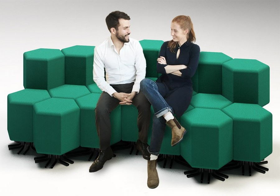 2-1-lift-bit-Italy-Vitra-Carlo-Ratti-design-modular-smart-seat-sofa-remote-digitally-transformable-controlled-furniture-upholstered-hexagonal-geometric