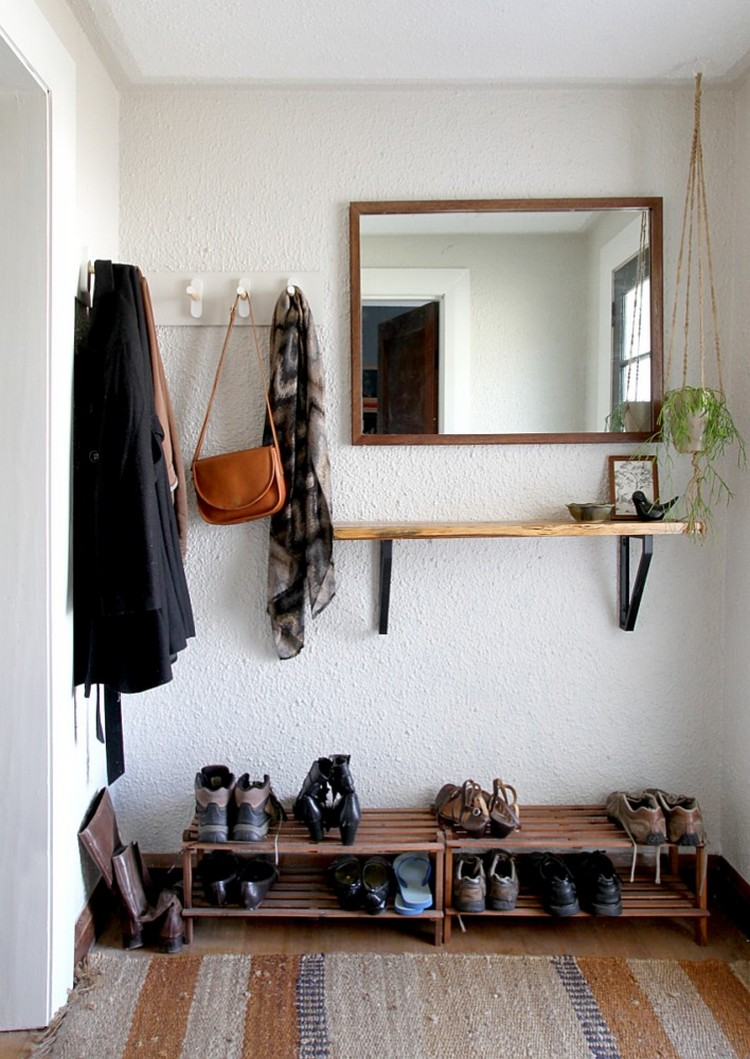 Shoe Storage Ideas: Most Simple & Ergonomic Hallway Solutions ...