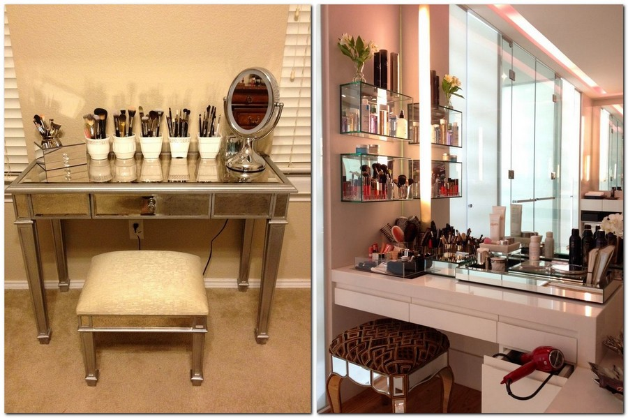2-dressing-table-plenty-of-cosmetics-make-up-brushers-organizers