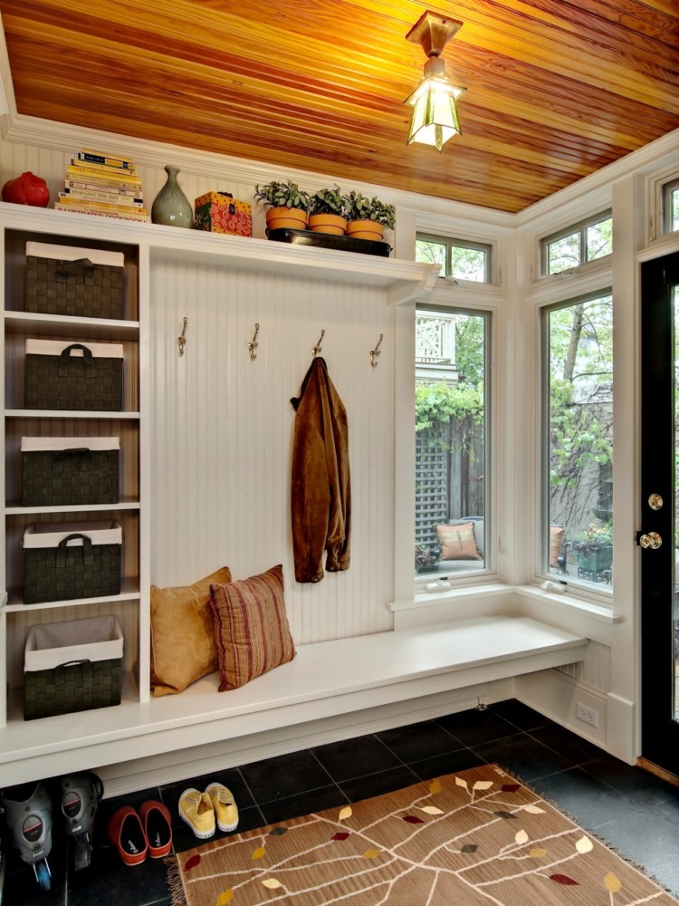 3-1-hallway-entry-room-entrance-hall-mudroom-interior-design-shoe-storage-ideas-cabinet-wooden-white-bench-coat-racks-hooks-baskets-ceiling