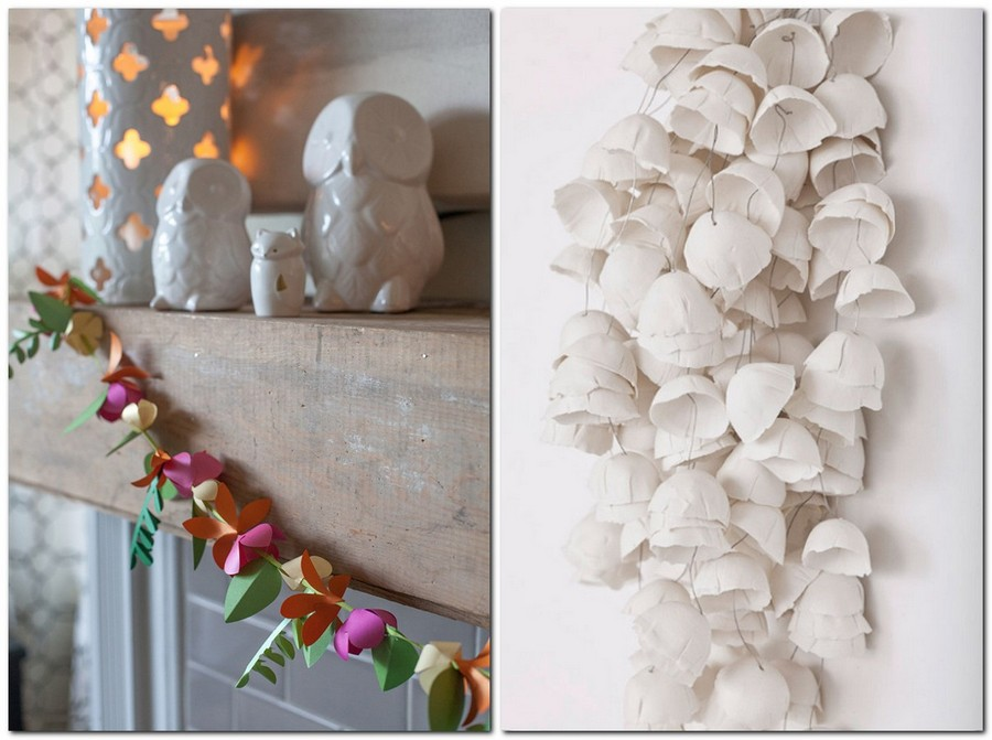 Paper Garlands: Home Décor That Makes You Happier | Home ...