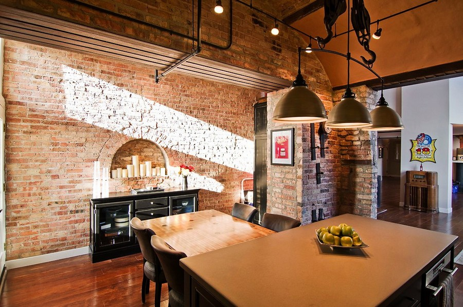 4-2-masonry-wall-recess-arch-shaped-with-candles-faux-fireplace-ideas