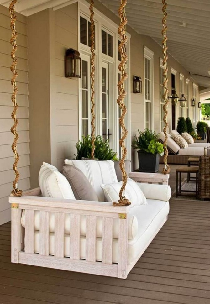 4-4-beautiful-garden-swing-white-suspended-wooden-bench-on-a-terrace-ropes