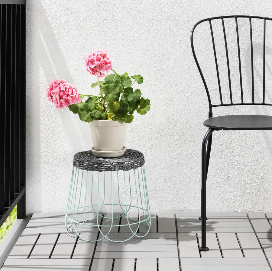 5-ornamental-gray-wicker-planter-stand-flower-pot-by-IKEA-SOLROSFRO-outdoor-indoor-polyester-steel-design-by-Maria-Vinka
