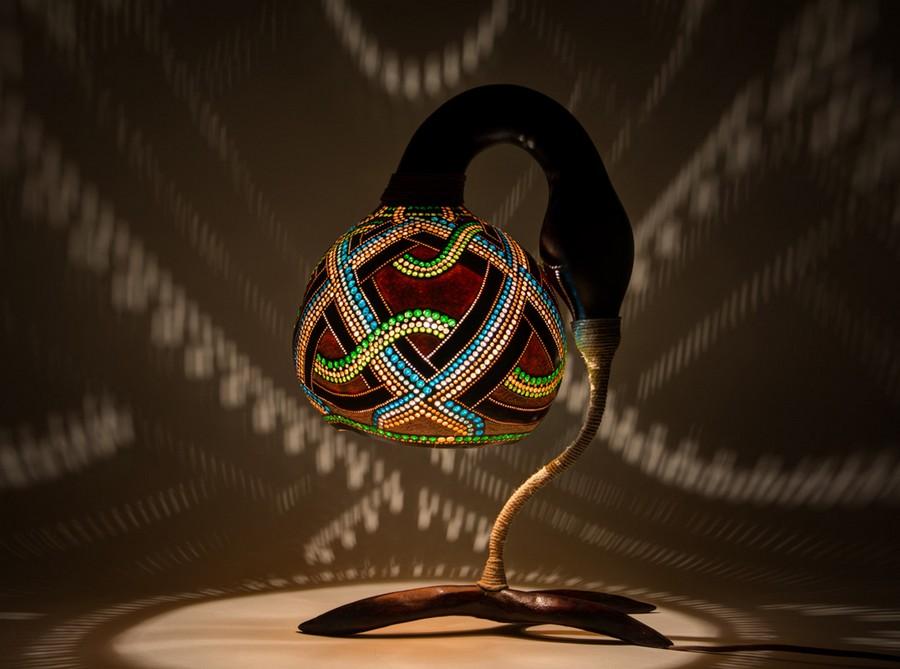 Calabarte-table-lamp-IV-2-handmade-carved-hand-crafted-light-by-Przemek-Krawczyński-Poland -from-natural-materials