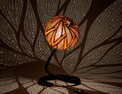 Astonishing Handcrafted Lamps Made from Tropical Pumpkins