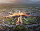 The World's Biggest Airport-To-Be Takes Impressive Shape