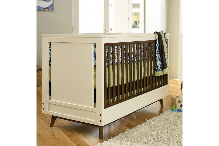 3-1-toddler-baby-bed-classical-wooden-on-legs-white-dark-wood