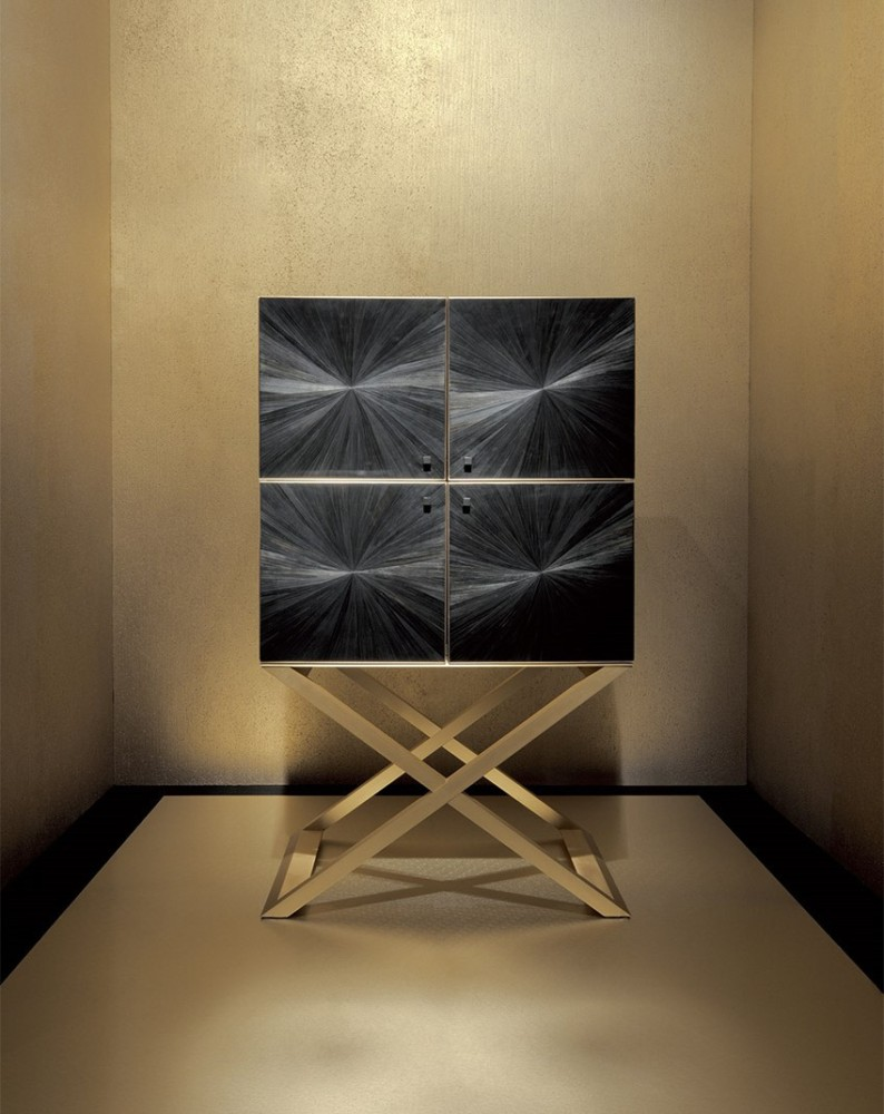4-2-Giorgio-Giorgio-Armani-Casa-furniture-design-luxurious-interior-chest-of-drawers-black-glossy-cabinets-four-golden-legs-crossed-geometrical-framework