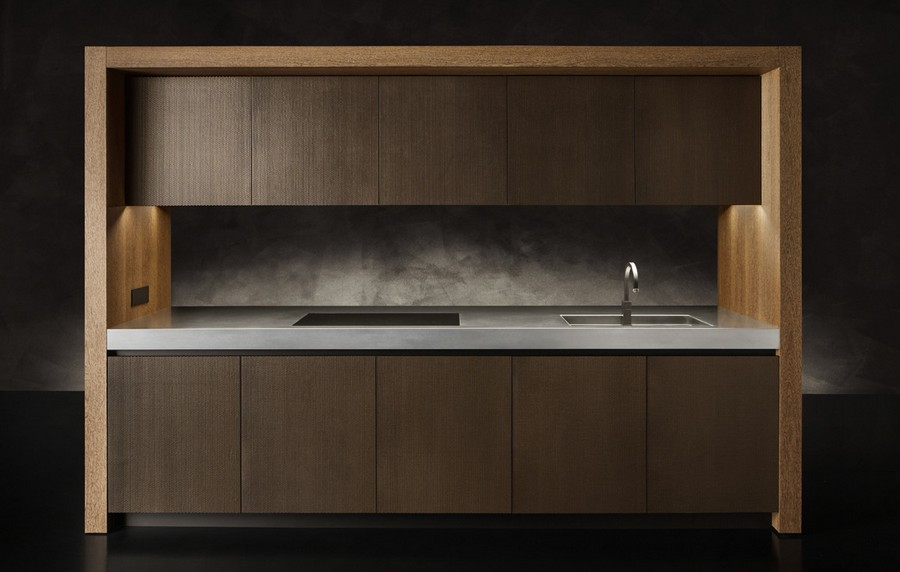 5-1-Giorgio-Giorgio-Armani-Dada-kitchen-furniture-cabinets-design-luxurious-interior-gray-backsplash-handleless-pust-to-open-cabinets