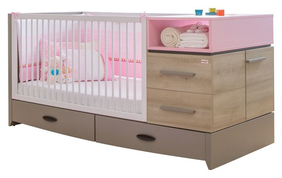 5-1-toddler-baby-bed-multifunctional-cot-with-drawers-changing-table-cabinets
