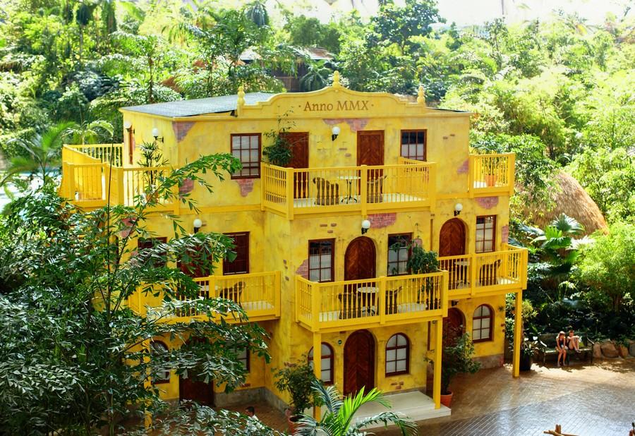 6-1-das-tropical-island-resort-germany-indoor-water-park-hotel-exterior-yellow