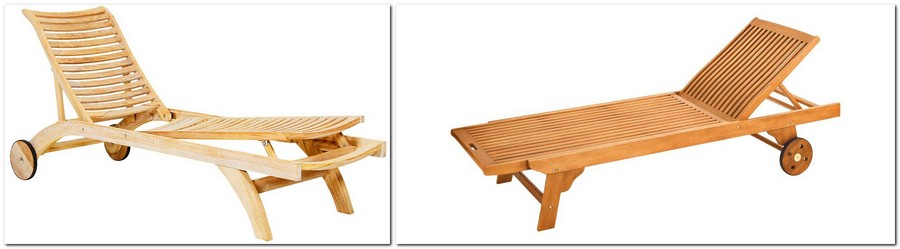 6-wooden-garden-oudoor-furniture-chaise-lounge-on-wheels-Karlo-by-Brafab-teak-Greenville-by-OBI-eucalyptus-wood
