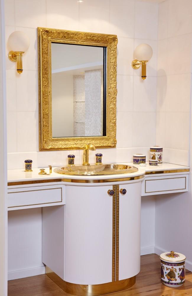 Lovely  Vassilissa bathroom collection Serdaneli France in Russian