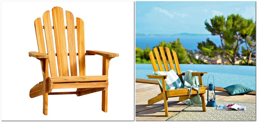 8-wooden-arm-chair-American-iconic-Teak-Adirondack-chair-outdoor-furniture-by-Pottery-Barn-Zeda-by-La-Redoute