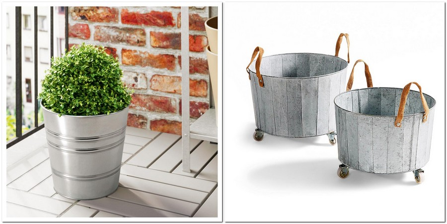 9-flower-pot-galvanized-steel-outdoor-garden-metal-accessories-Socker-by-IKEA-Aissa-by-La-Redoute