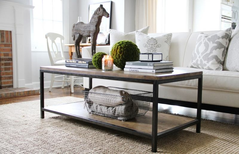 4 Golden Rules of Decorating a Coffee Table Examples Home
