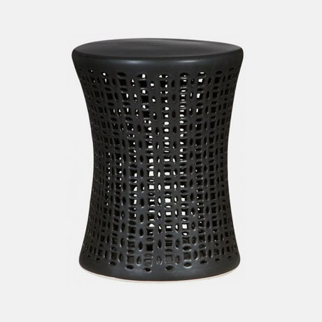 12-black-ceramic-garden-stool-outdoor