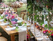 How to Decorate Outdoor Wedding: Original Ideas for Romantic Garden