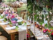 How to Decorate Outdoor Wedding: Original Ideas for Romantic Garden